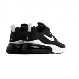 Nike Sneakers Air Max 270 React Nero Bianco Donna