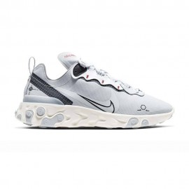 Nike Sneakers React Element 55 Grigio Uomo