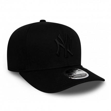 New Era Cappellino New York Tono Su Tono Nero Uomo