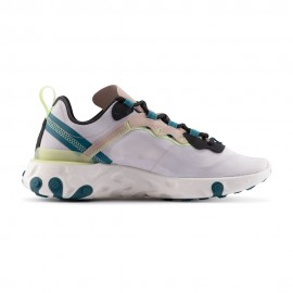 Nike Sneakers React Element 55 Grigio Nero Donna