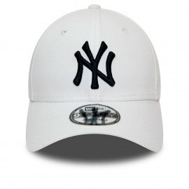 New Era Cappellino Essential New York Bianco Uomo
