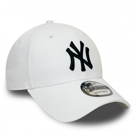 New Era Cappellino Essential New York Bianco Uomo