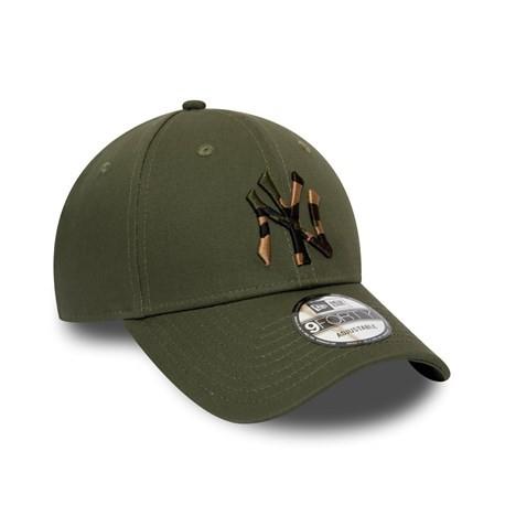 New Era Cappellino 9forty New York Verde Uomo