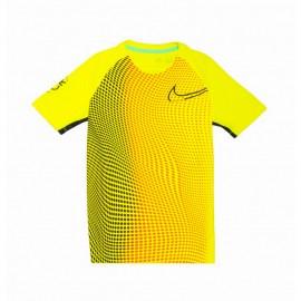 Nike Maglia Calcio Cr7 Dry Yellow Bambino