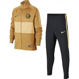 Nike Tuta Calcio Inter Trk Nero Bronze Bambino