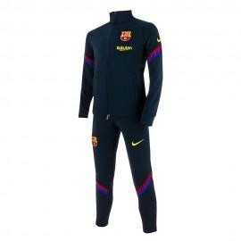Nike Tuta Calcio Fcb Dry Trk Yellow Nero Bambino