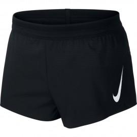 Nike Short Running 2in Aeroswift Nero Bianco Uomo