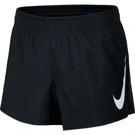 Nike Short Running Swoosh Nero Donna