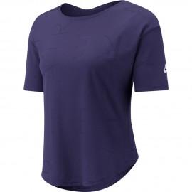Nike Maglia Running Manica Corta Air Viola Bianco Uomo