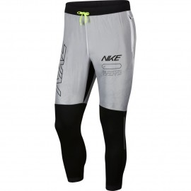 Nike Pantalone Running Phantom Elite Track Air Nero Bianco Uomo