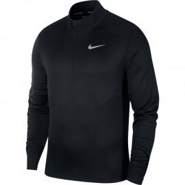 Nike Maglia Running Manica Lunga Pacer Zip Nero Uomo