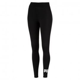 Puma Leggings Essential Con Logo Nero Donna