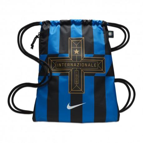 Nike Zaino A Sacca Inter Stadium Blu Nero Uomo