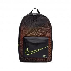 Nike Zaino Calcio Cr7 Serie S Nero Arancio Uomo