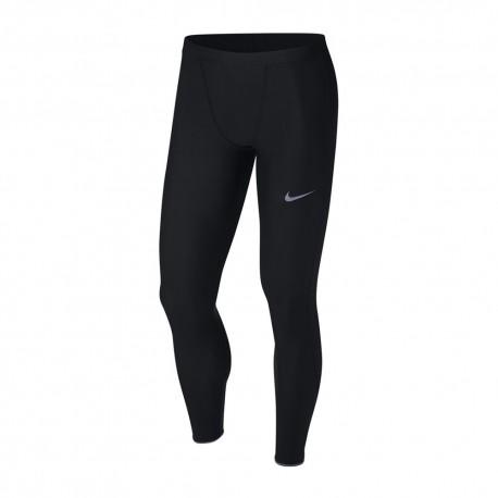 Nike Leggings Running Mobility Nero Argento Uomo