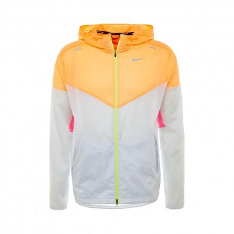Nike Giacca Running Windrunner Pure Platinum Uomo