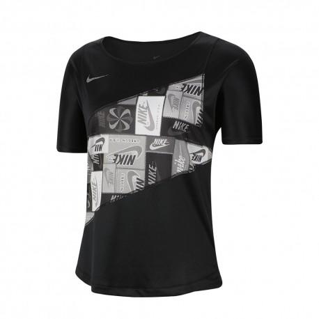 Nike Maglia Running Pr Icnclsh Nero Donna