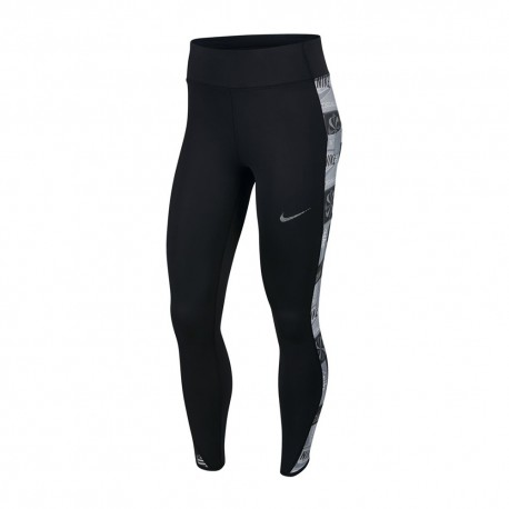 Nike Leggings Running Fast Icnclsh Nero Donna
