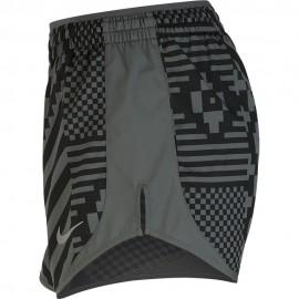 Nike Pantaloncini Running Tempo Runway Grigio Donna