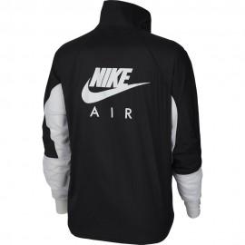Nike Giacca Running Air Nero Bianco (Bianco) Donna