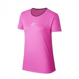 Nike Maglia Running Air Fire Rosa Uomo