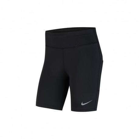 Nike Short 3/4 Running Running Fast Nero Donna