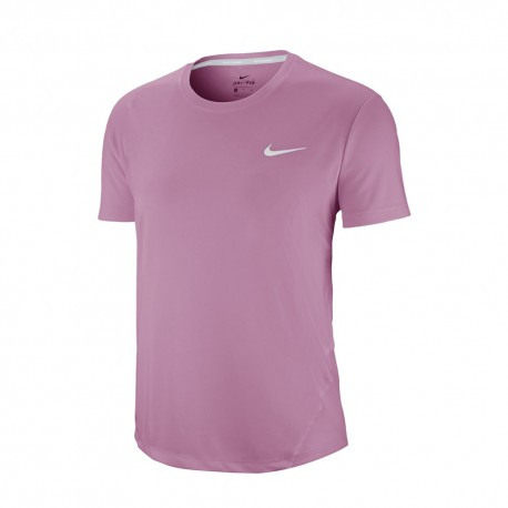 Nike Maglia Running Miler Rosa Donna