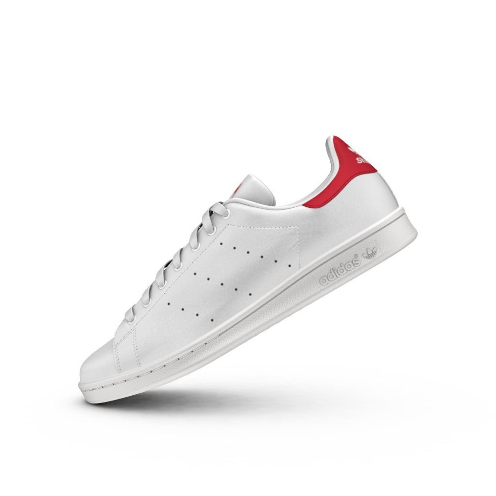 adidas stan smith bianco rosse