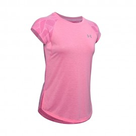 Under Armour Maglia Running Streaker 2.0 Shift Rosa Donna
