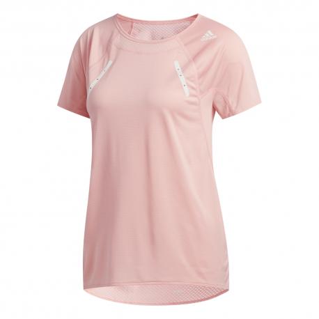 ADIDAS maglia running heat rdy rosa donna