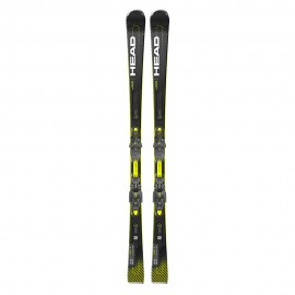 Head Sci Supershape E-Speed Sw Sf-Pr+Prd 12 Gw Nero Giallo Fluo Uomo