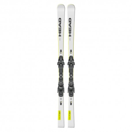 Head Sci Wc Rebels E-Speed Sw Rp Evo 14+Freeflex St14 Bianco Uomo