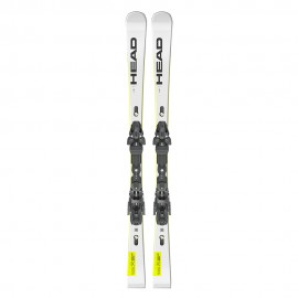 Head Sci Wc Rebels E-Sl Sw Rp Evo 14+Freeflex St14 Bianco Nero Uomo