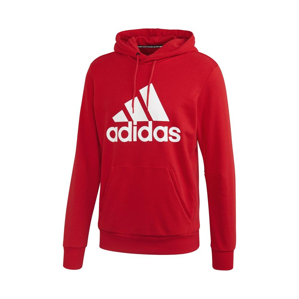 spazzola Umeki Dinkarville  ADIDAS felpa palestra con cappuccio logo rosso uomo - Acquista online su  Sportland