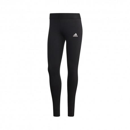 ADIDAS leggings sportivi 3 stripes nero donna
