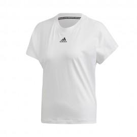 ADIDAS maglietta palestra crop top lilla donna