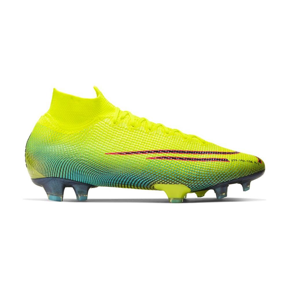 Nike Scarpe Da Calcio Superfly 7 Elite Mds Fg Lime Nero Uomo  Ghgon8