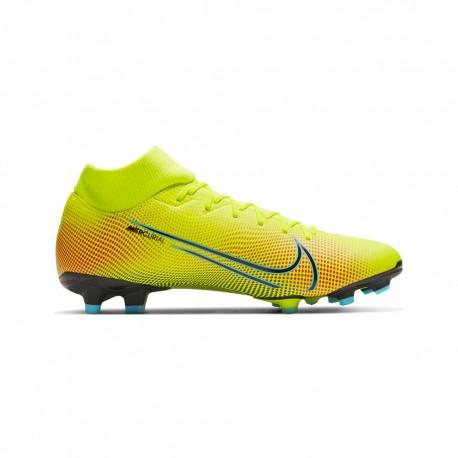 Nike Scarpe Da Calcio Superfly 7 Academy Mds FgMg Lime Nero Uomo
