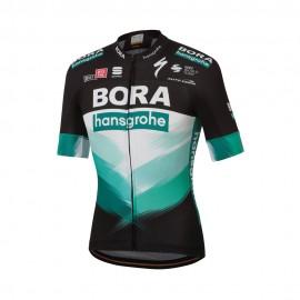 Sportful Maglia Ciclismo Bodyfit Team Bora 2020 Nero Uomo