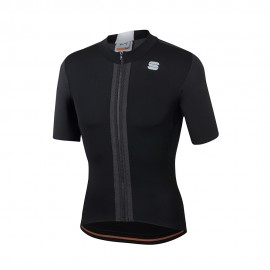 Sportful Maglia Ciclismo Strike Nero Bianco Uomo