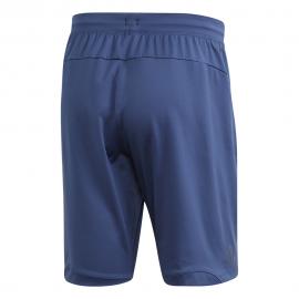 ADIDAS pantaloncino palestra logo big train blu uomo