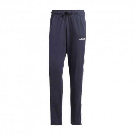 ADIDAS pantalone palestra 3 stripes blu uomo