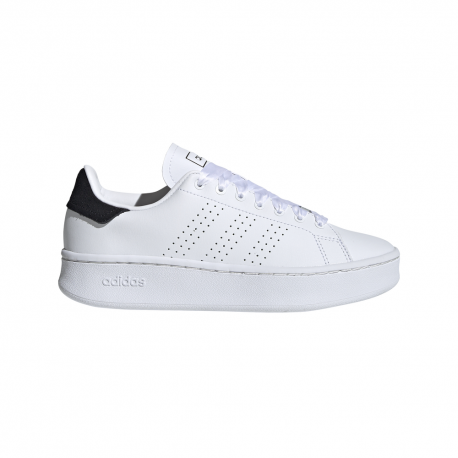 Adidas Sneakers Advanatge Bold Bianco Nero Donna