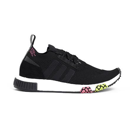 ADIDAS sneakers nmd racer primeknit nero rosa uomo
