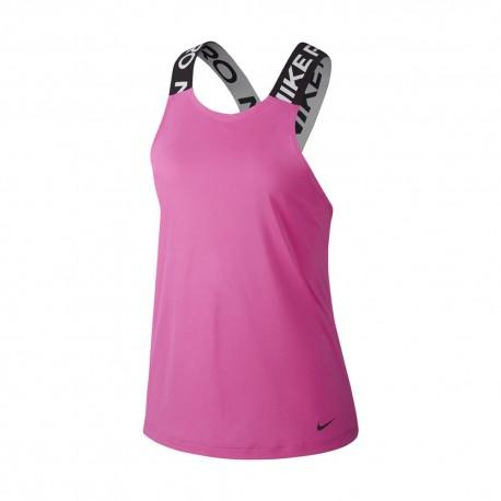 Nike Canotta Palestra Elastika Pro Rosa Donna