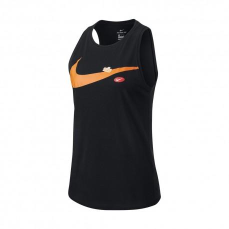 Nike Canotta Palestra Pro Nero Donna