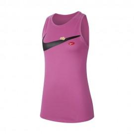 Nike Canotta Palestra Pro Rosa Donna