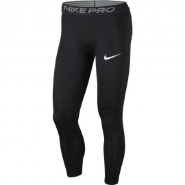 Nike Leggings Sportivi 3/4 Dry Nero Uomo