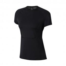 Nike Maglietta Palestra Luxe Nero Donna