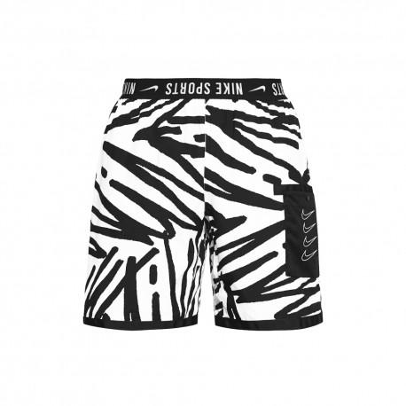 Nike Pantaloncino Palestra Nsp Sport Clash Bianco Uomo
